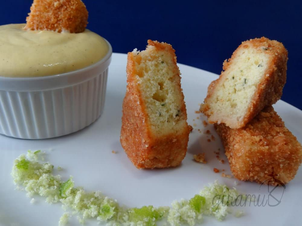 """Fish Fingers"" with Custard"