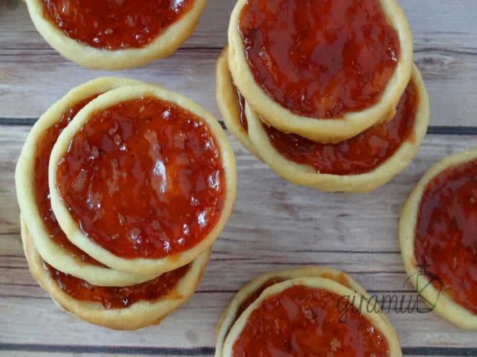 Strawberry Jam Tartlets