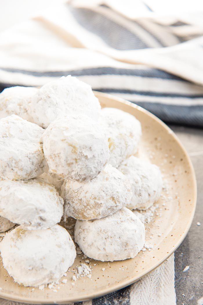Mexican Wedding Cookies The Flavor Bender