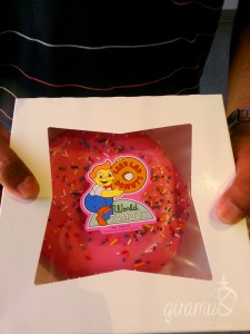Kwik-E-Mart Doughnut from Universal Studios Hollywood