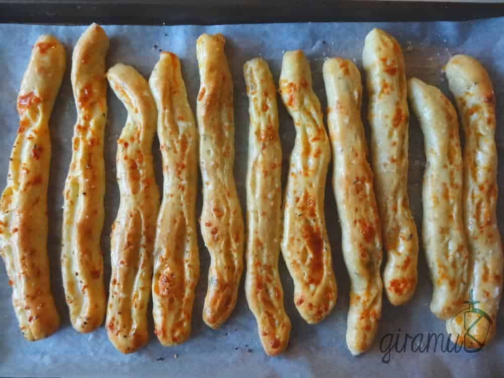 The BEST Homemade Garlic Bread sticks
