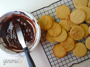 Pumpkin Spice Cookies with Mocha Filling