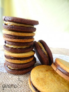 Mocha and Pumpkin Spice Cookies with Filling!