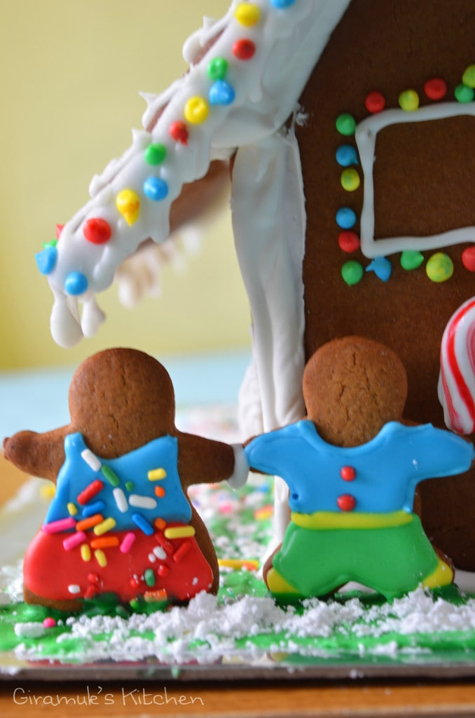 Gingerbread Me and Mr K