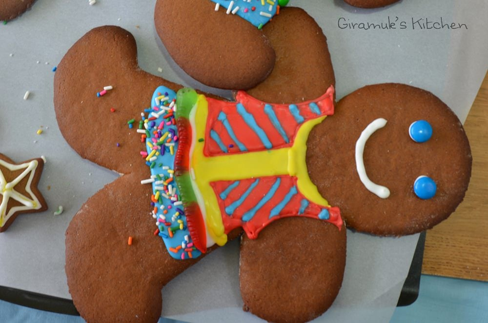 One of our Gingerbread Man Cookies