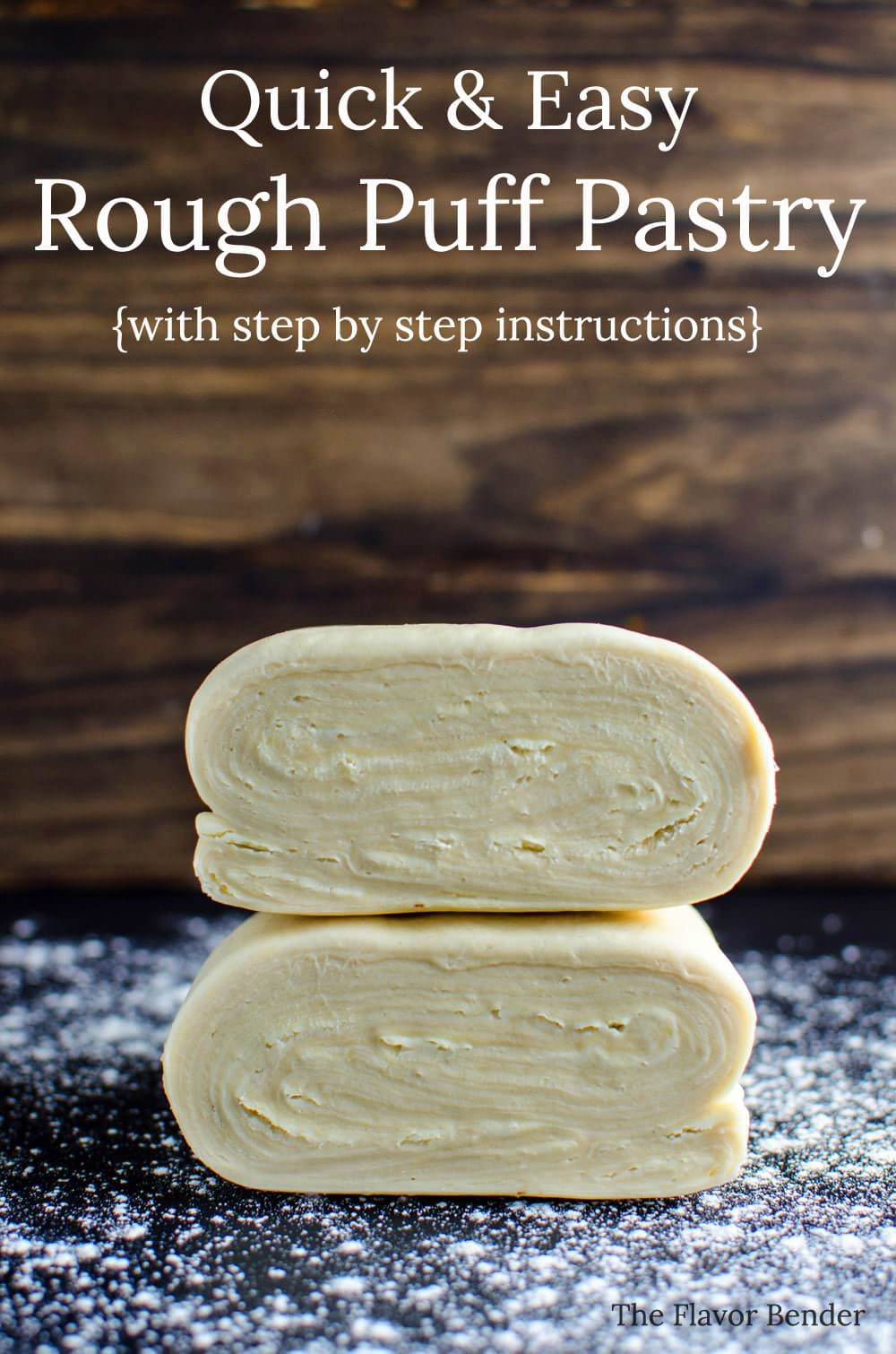 How to make a pastry dough recipe