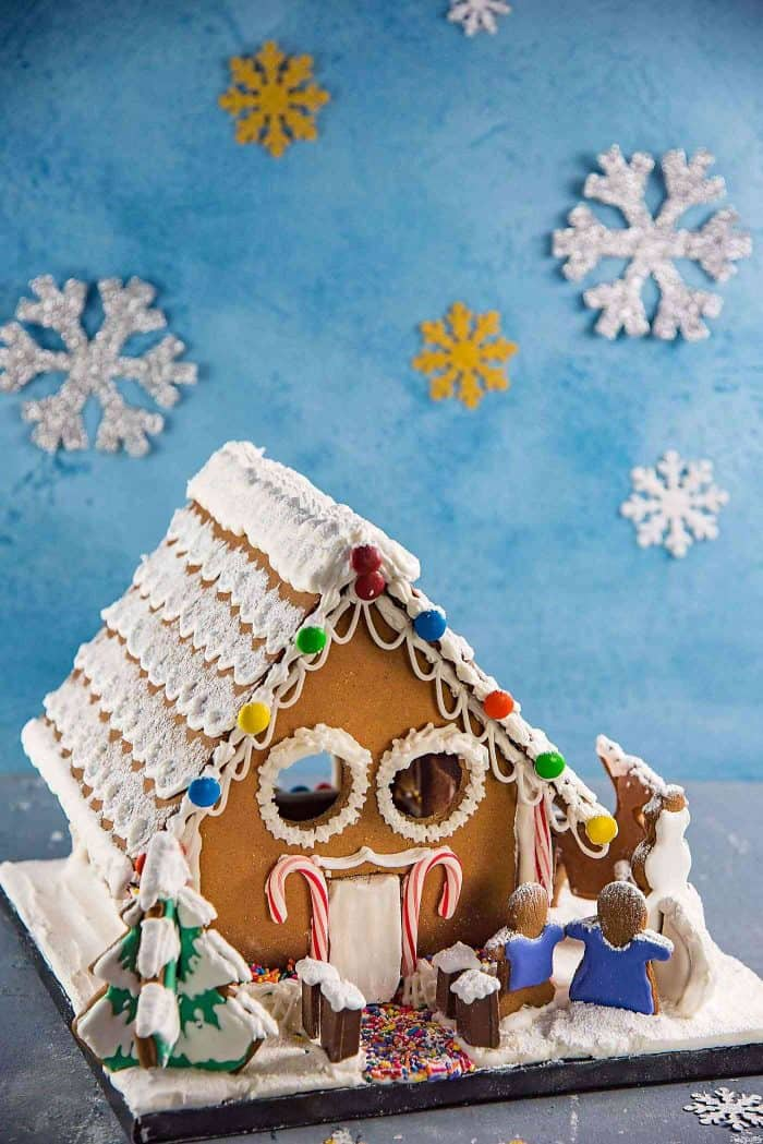 gingerbread house get the perfect gingerbread dough recipe to make this adorable gingerbread house or - Gingerbread Christmas Decorations Beautiful To Look