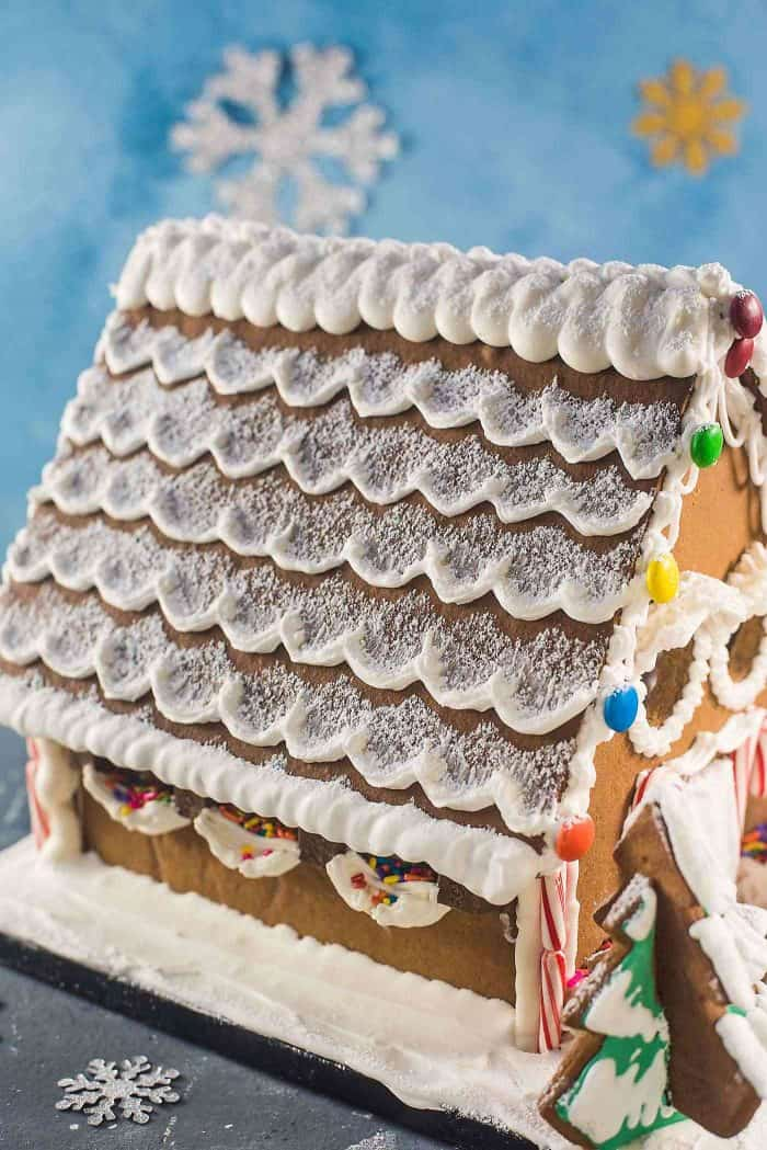 Gingerbread House Recipe Template The Flavor Bender