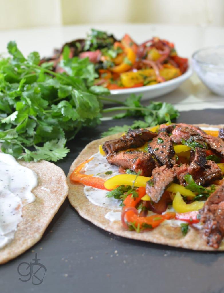 Spicy Fajita Steak Quesadillas