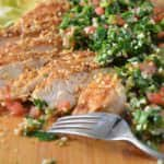 Dukkah Spiced Grilled Chicken with Tabbouleh