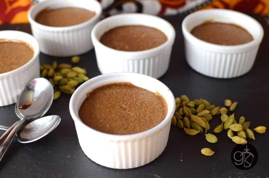 Sri Lankan Watalappan { Cardamom Spiced Coconut Custard }