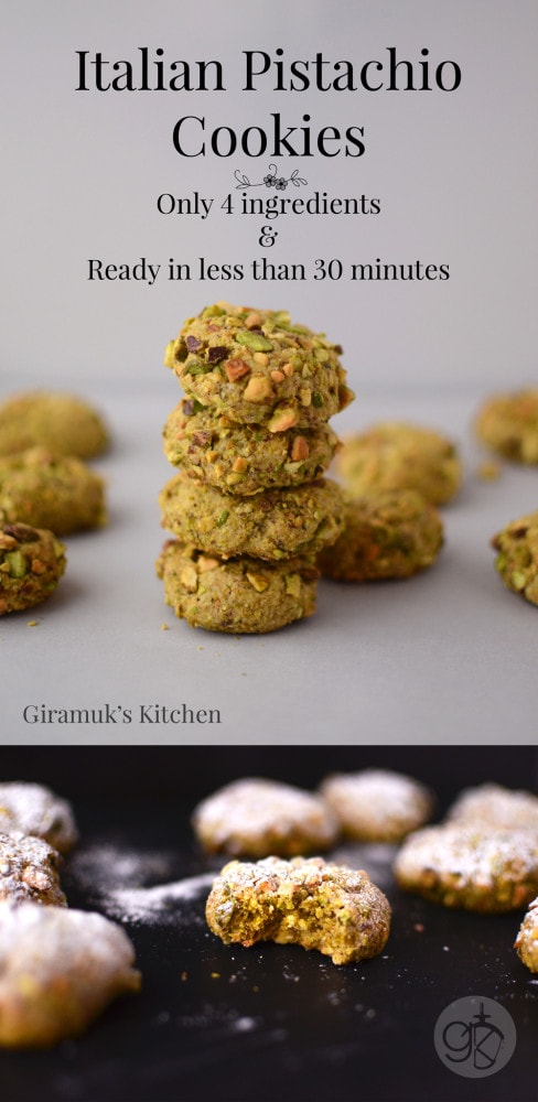 Best recipe pistachio cookies