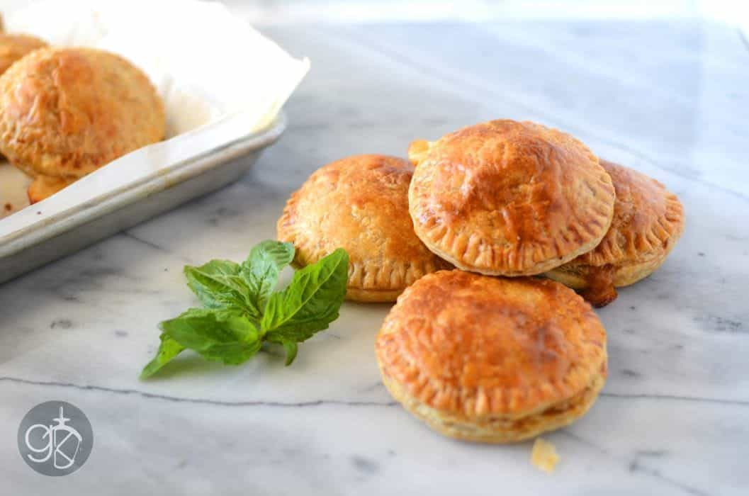 Caponata and Cheese Hand Pies