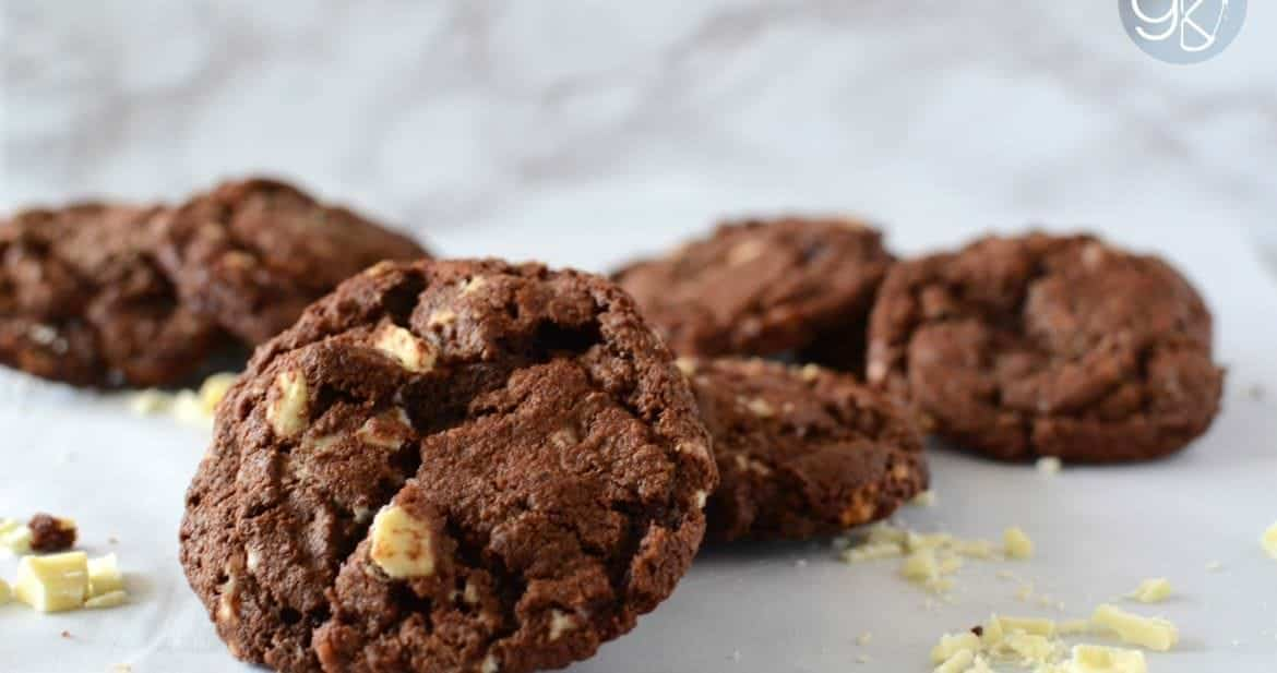 Double Chocolate, Bacon and Black Pepper Cookies | The Flavor Bender