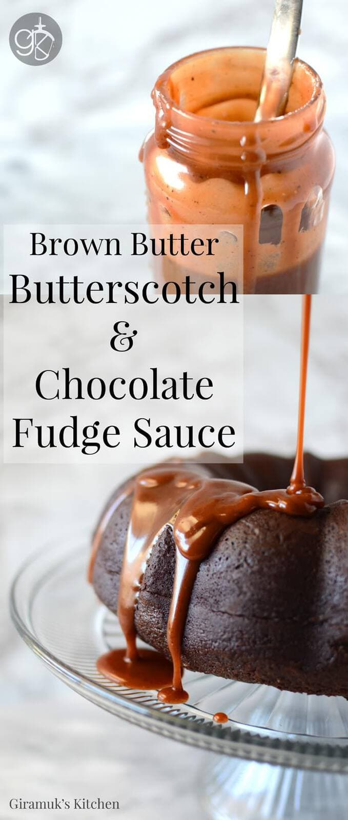 Brown Butter Butterscotch Chocolate Fudge sauce. Learn to make your butterscotch sauce even BETTER! Once you try this, you won't want regular butterscotch sauce ever again.