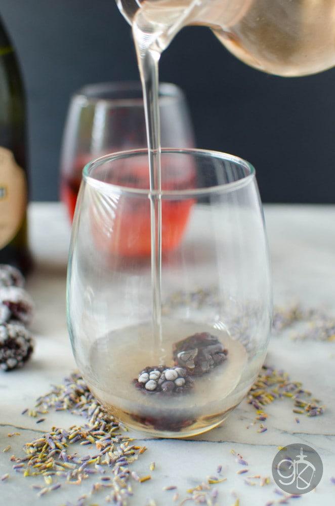 Lavender Syrup for Cocktails