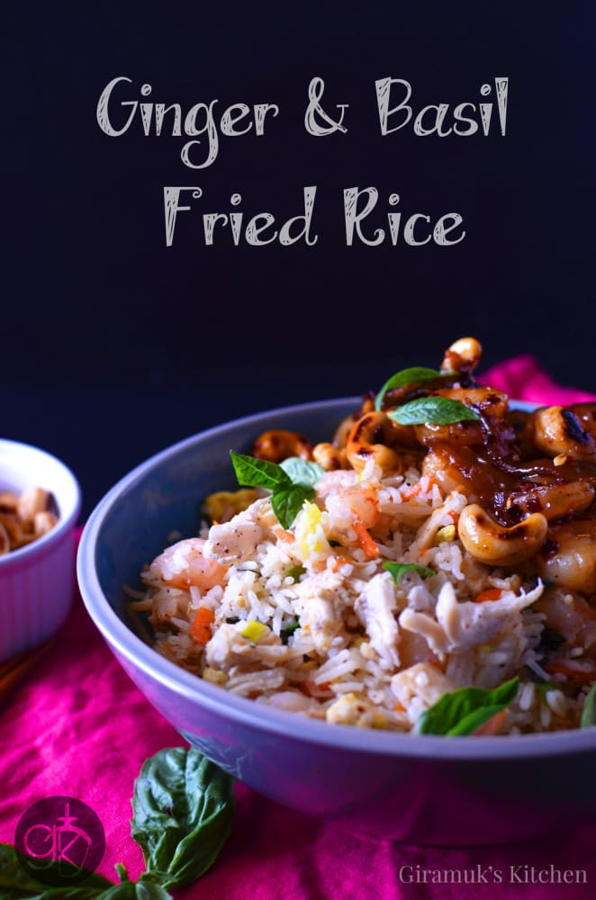 Ginger and Basil Fried Rice