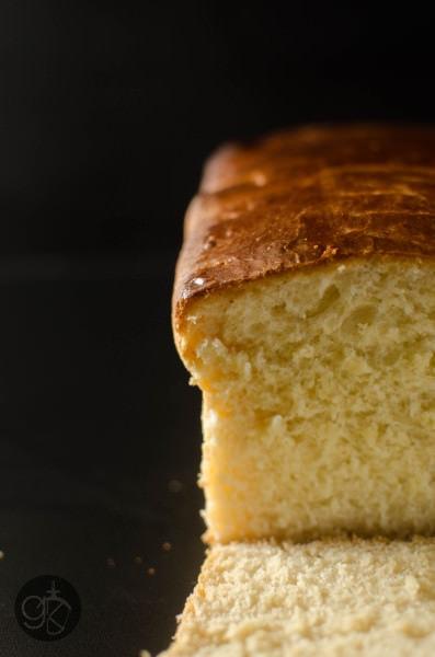 Soft and delicious Dairy Free Brioche Bread Loaf