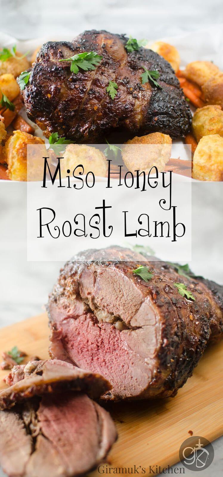 Miso Honey Roast Lamb