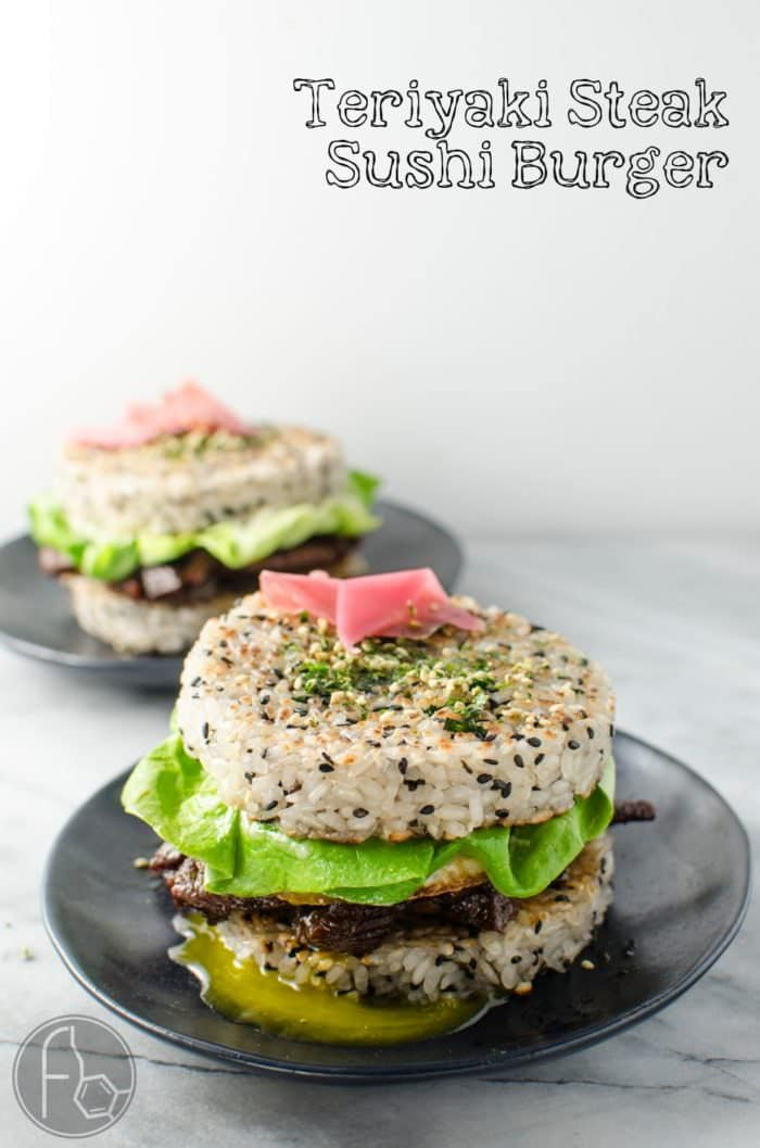 "Teriyaki Steak Sushi Burger (Recipe + Video)- Whether you are outraged or intrigued, you cannot deny that this Steak Sushi Burger is insanely delicious! Delicious Teriyaki Glazed steak strips inside perfectly seasoned Sushi Rice ""Buns"" and topped with a glorious Egg. Everything you love about Sushi, but as a burger! So easy to make. CLICK to get the recipe. REPIN for later. #TheFlavorBender"
