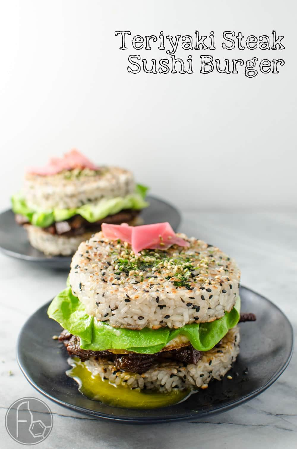 Teriyaki Steak Sushi Burger | The Flavor Bender