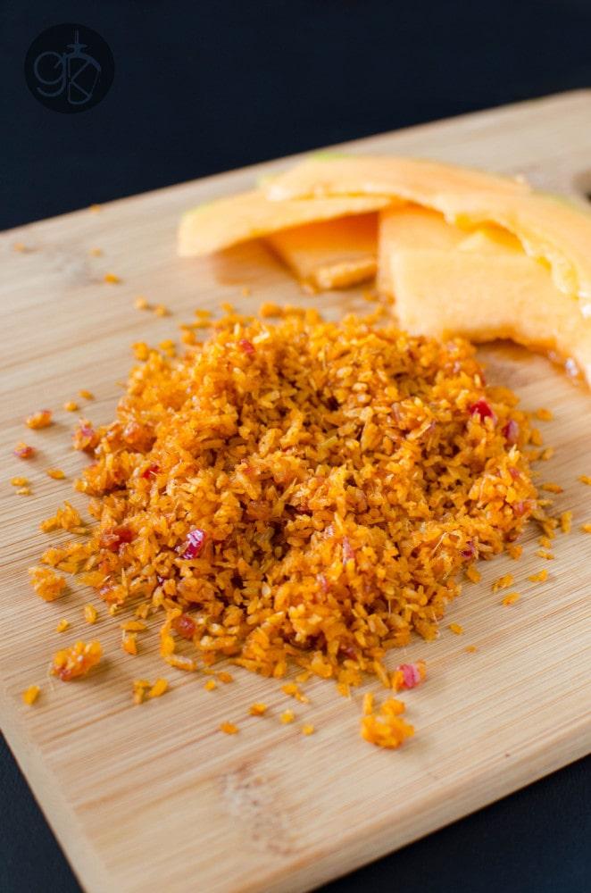 Spicy Coconut Sambal - perfect accompaniment