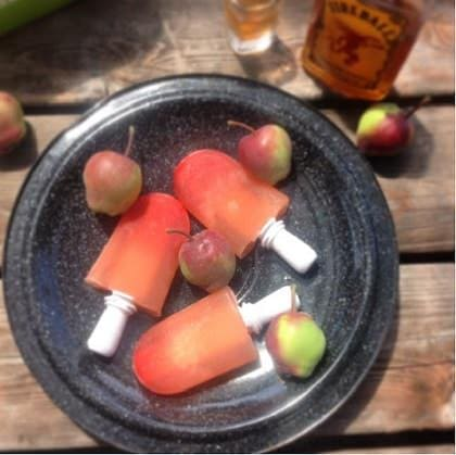 25 Delicious Frozen Treats for this Summer - Fireball Popsicles