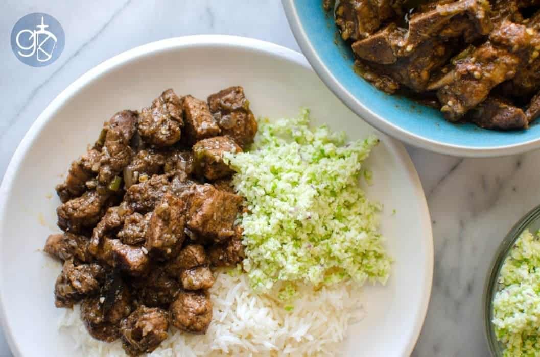 Spicy Sri Lankan Black Pork Curry