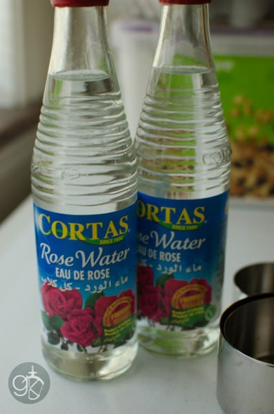 Rose water for Faluda syrup