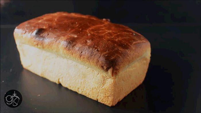 Soft and delicious Dairy Free Brioche Bread Loaf