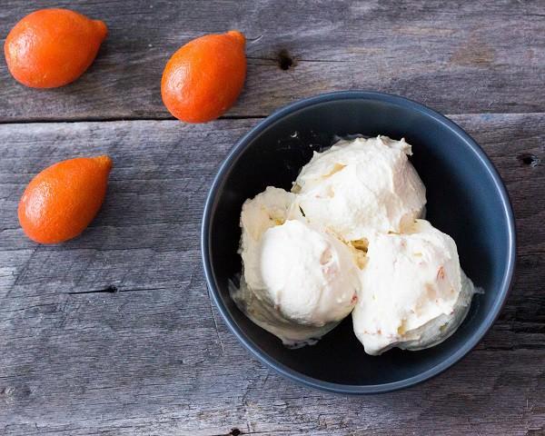 25 Delicious Frosty Summer Desserts Round up - Kumquat Ice Cream
