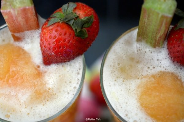 25 Delicious Frozen Treats for this Summer - Rhubarb Slush