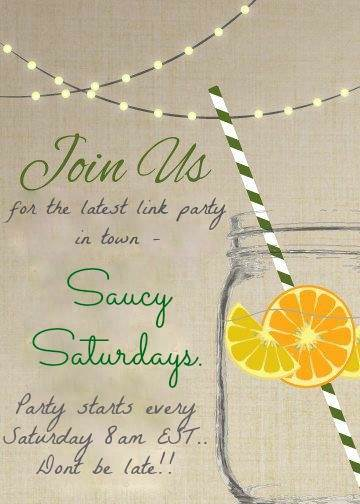 Saucy Saturday Link up Party!