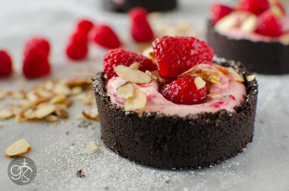 Lavender and Raspberry No Bake Cheesecake | The Flavor Bender