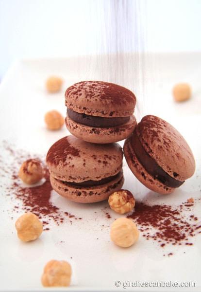 Chocolate-and-Hazelnut-Macarons-3-706x1024