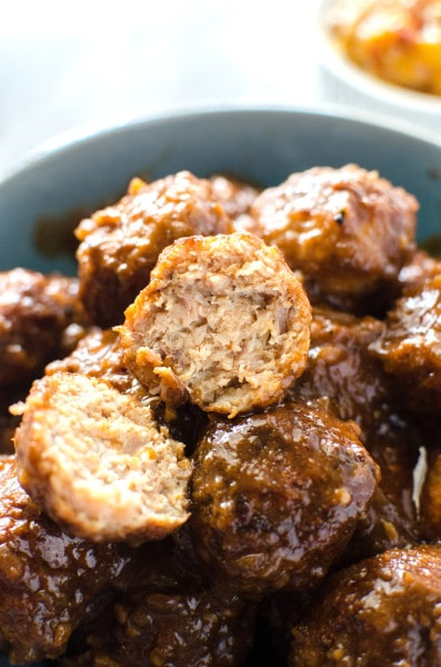 Delicious Chicken Curry Meatballs - So good to eat on its own with Rice or in a insanely delicious meat ball sub!