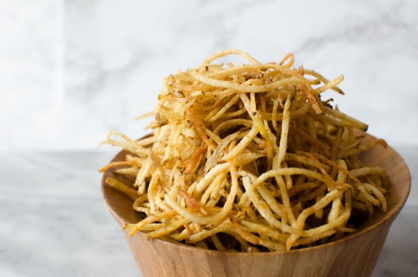 Homemade Potato Thin Fries