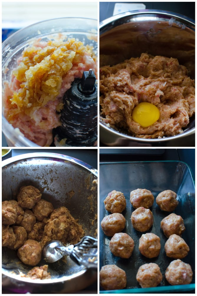 How to make Chicken Meatball Curry from scratch