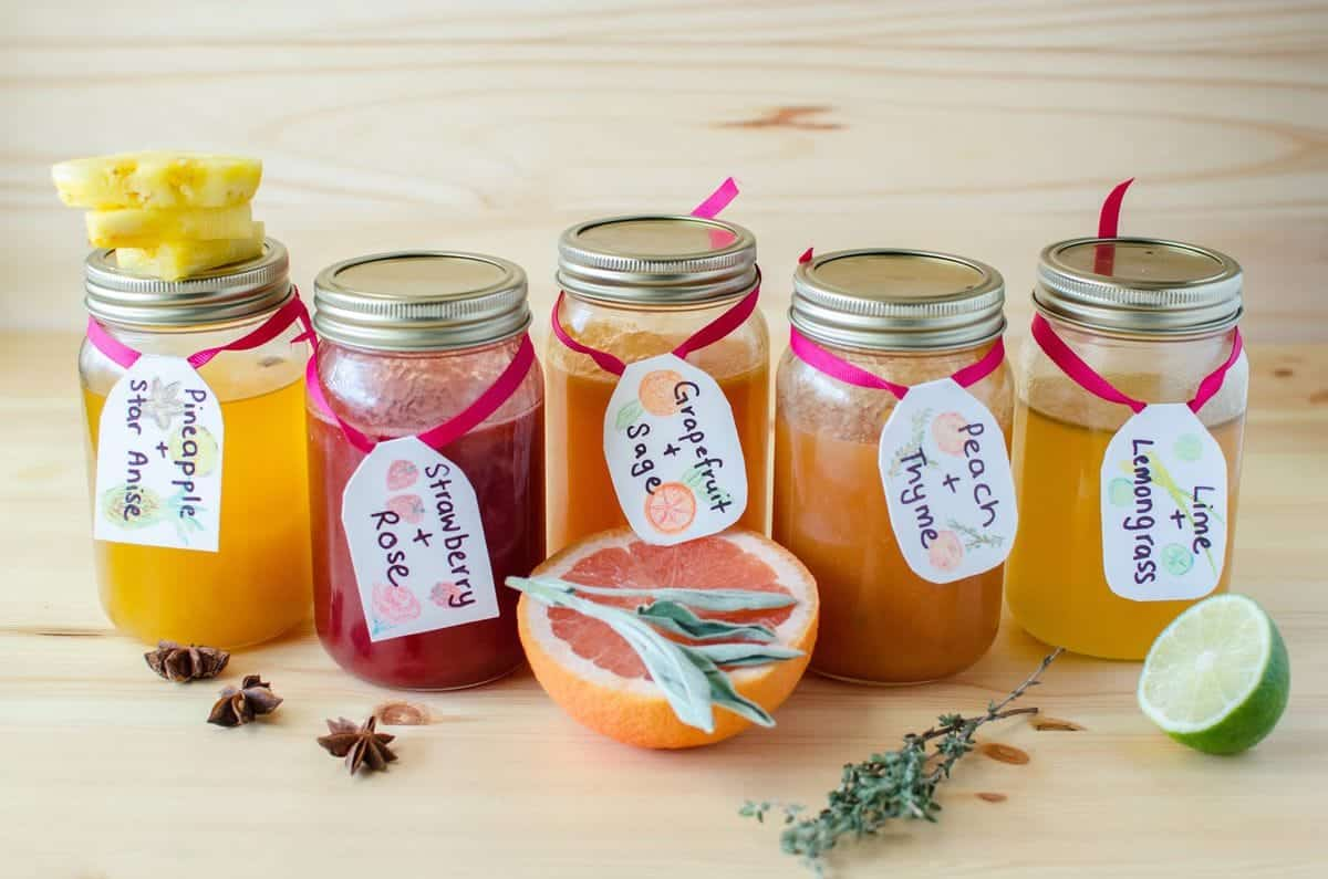5 Easy Homemade Soda Syrups - The Flavor Bender