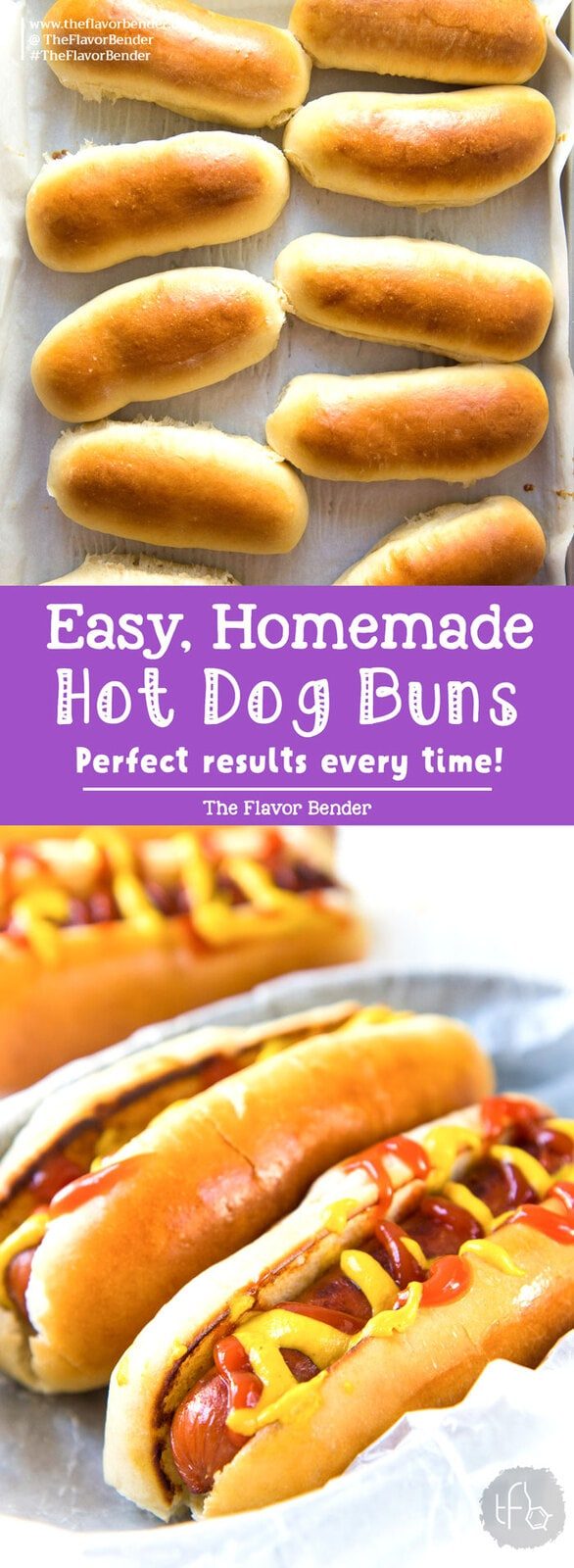 These Easy to make Homemade Hot Dog Buns, are perfectly soft and delicious! This dough is versatile enough to be hot dog buns, subs, or hamburger buns, and absolutely easy to make! #HotDogBuns #BurgerBuns #EasyBreadDough #SummerRecipes