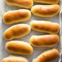 Easy Homemade Hot Dog Buns - The Flavor Bender