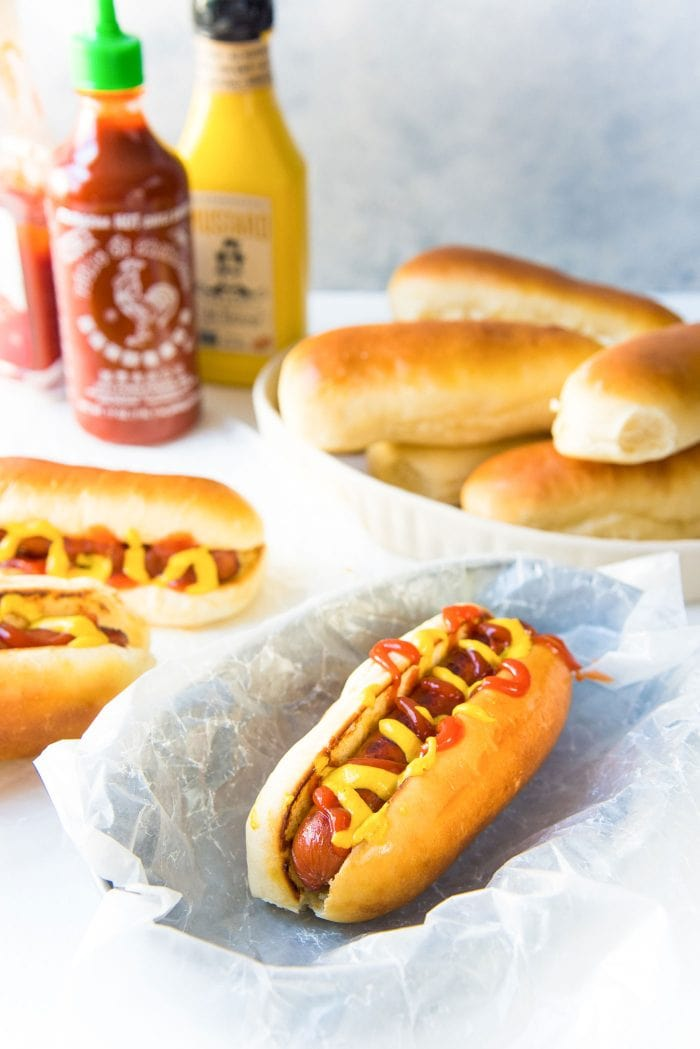 Easy Homemade Hot Dog Buns The Flavor Bender