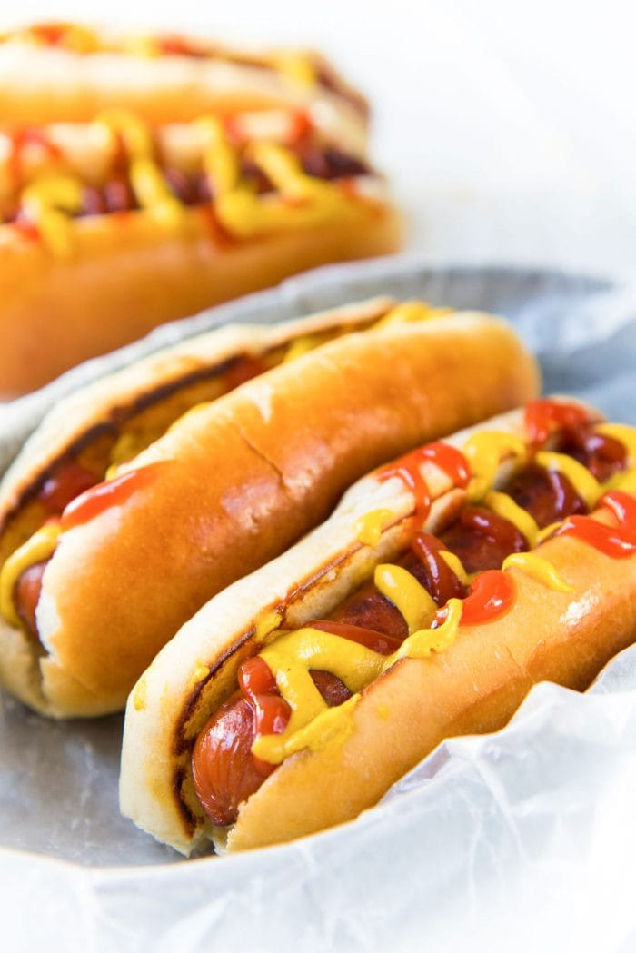 Easy Homemade Hot Dog Buns The Flavor Bender
