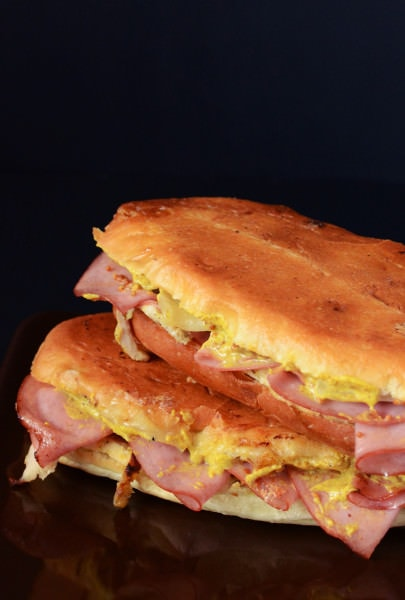 """Cubano Sandwich with """"The Flavor Bender"""" twist"""