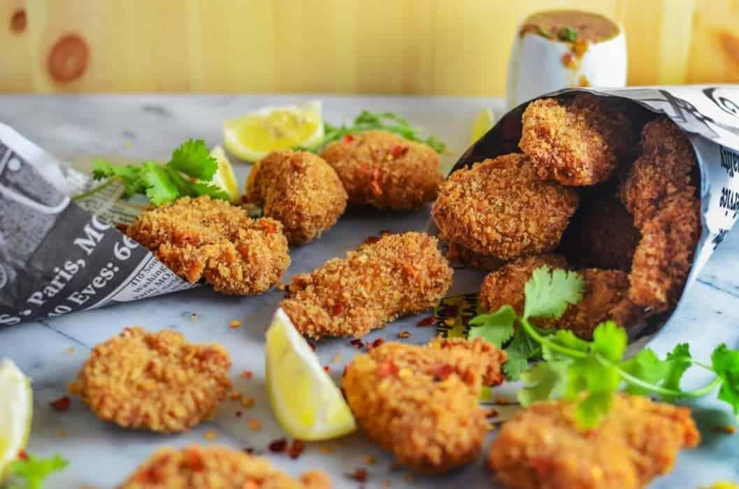 Lemongrass & Wasabi Asian Style Chicken Nuggets