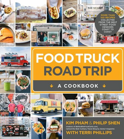 An Image of the cookbook from the blog; Behind the Food Carts