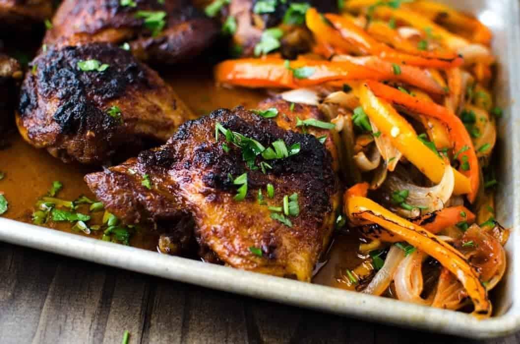 Easy Oven-Baked Chicken Fajita