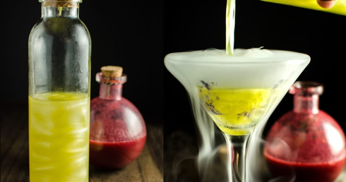 How To Make Shimmery Liqueur The Science For Homemade