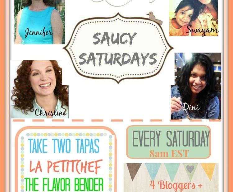 saucy saturdays link up party hosts