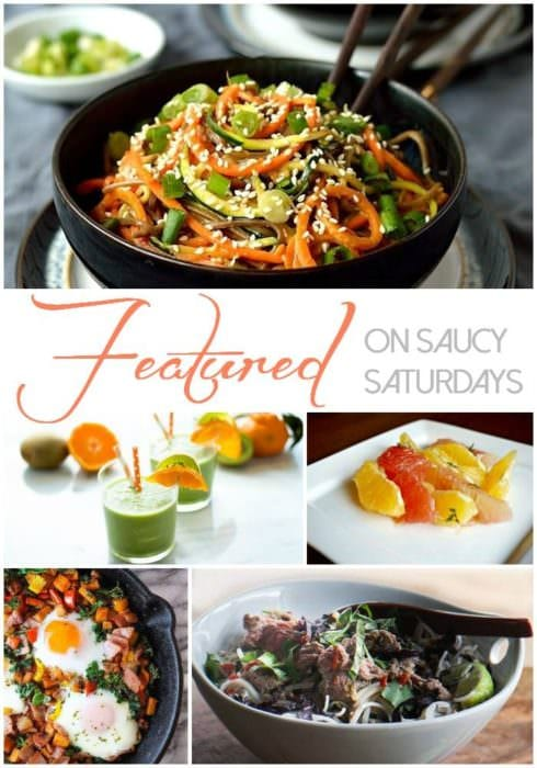 Features of Saucy Saturdays Link up 27